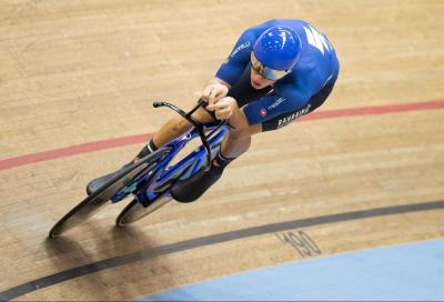 Jonathan Milan oro nell'inseguimento individuale ai Campionati Europei su pista
