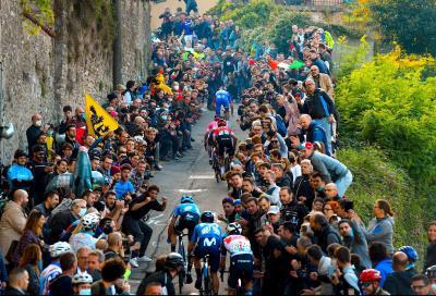 Giro di Lombardia a Tadej Pogacar, ma grandissima rimonta di Fausto Masnada