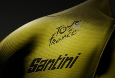 Santini fornitore ufficiale del Tour de France