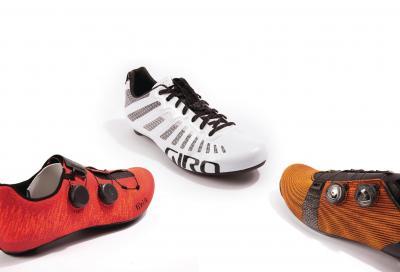 Le nuove tomaie delle scarpe da ciclismo