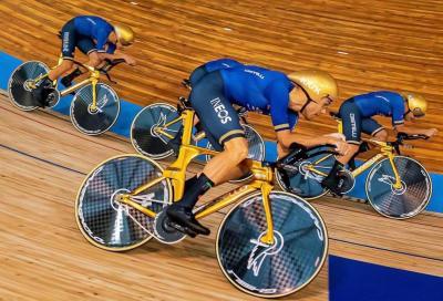 Di nuovo (l)Oro:  Ganna&C. e Letizia Paternoster Campioni del Mondo in pista