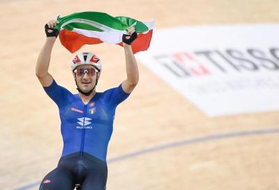 Elia Viviani Campione del Mondo: si prende l'oro nell'eliminazione