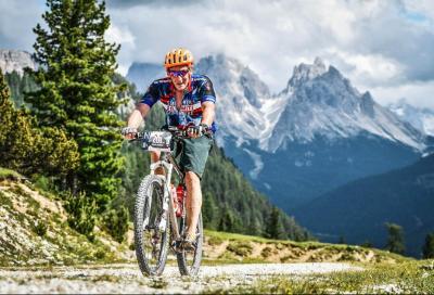 Lungo i sentieri della Südtirol Dolomiti Superbike con Thomas Widmann